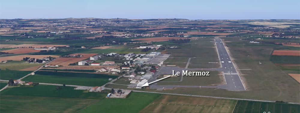 Restaurant LE MERMOZ (26) Aéroport de Valence-Chabeuil